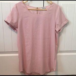 Express pink top